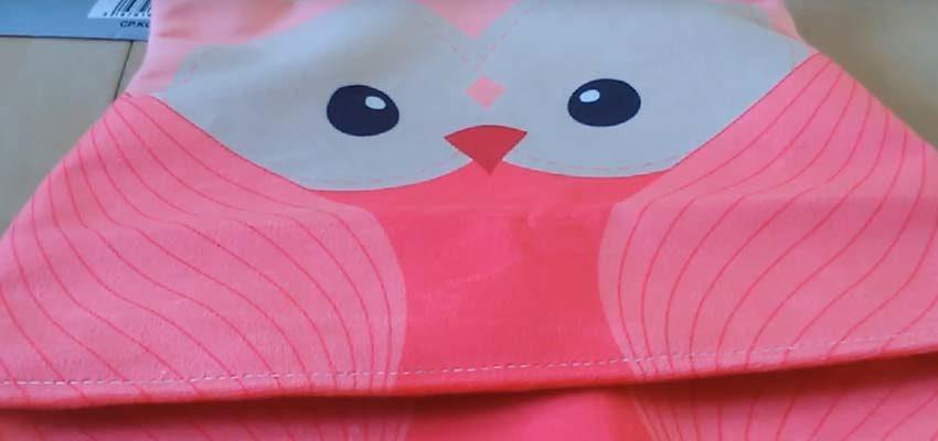 Réalisation du kit couture Lilou le Hibou