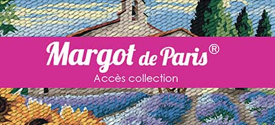 Accès catalogue Canevas Margot de paris